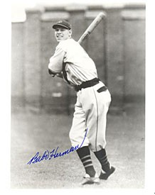Babe Herman Autographed / Signed 8x10 Photo