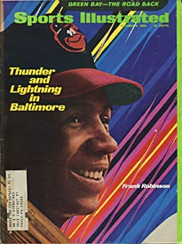 Frank Robinson 1969 Sports Illustrated