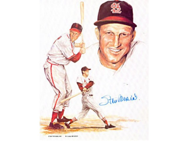 Stan Musial Autographed / Signed 8x10 Photo