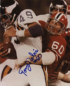 Tommy Nobis Autographed / Signed 8x10 Photo - Atlanta Falcons