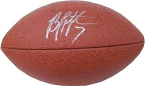 Byron Leftwich signed Official NFL Tagliabue Football