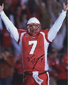Ben Roethlisberger Autographed / Signed 8x10 Red Uniform Photo