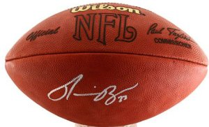 Ronnie Brown signed Official NFL Tagliabue Football #23 (Texans/Chargers/Dolphins)