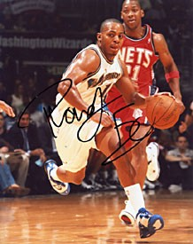 Randy Foye Autographed / Signed Washington Wizards Basketball 8x10 Photo