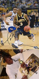 Dwyane Wade Autographed / Signed Marquette University 8x10 Photo