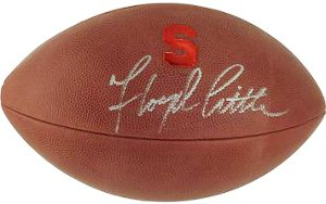 Floyd Little signed Syracuse Orange Official Gameday College Football- Steiner Hologram