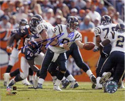 Drew Brees (San Diego Chargers) Signed 8x10 Photo