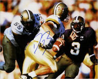Drew Brees (Purdue) Signed 8x10 Photo