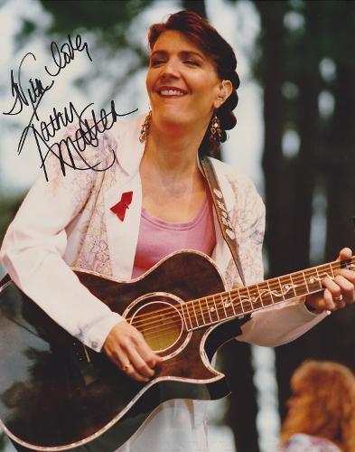 Kathy Mattea Autograph...