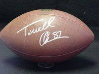Terrell Owens Signed Football