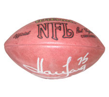 Howie Long Autographed Official Tagliabue NFL Game Football