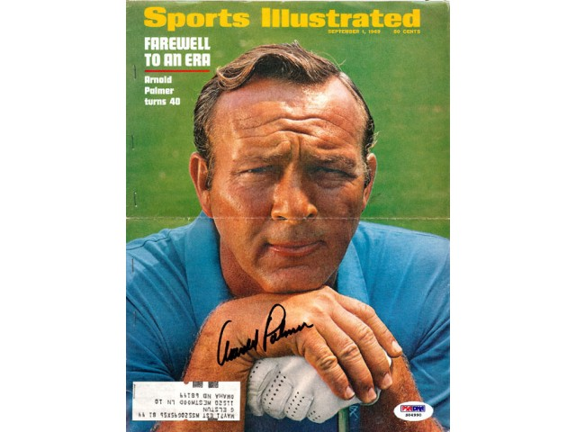 Arnold Palmer Autographed Sports Illustrated Cover PSA/DNA #S04990