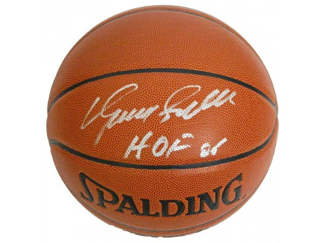 Dominique Wilkins Signed Spalding Indoor/Outdoor Basketball w/HOF'06