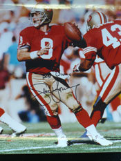 Steve Young Signed 11x14