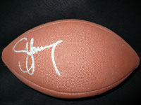 Steve Young Signed Official Super Bowl XXX Football