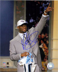 Vince Young Signed 8x10