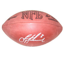 Troy Aikman Autographed Football Official Tagliabue NFL Game by Wilson
