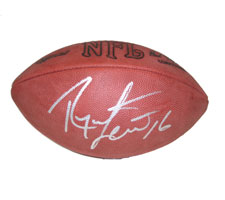 Ryan Leaf Autographed Official Tagliabue NFL Game Football