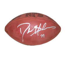 Deion Sanders Autographed Official Tagliabue NFL Game Football