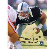 Howie Long Oakland Raiders 16x20 #1042 Autographed Photo