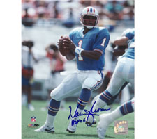 "Warren Moon Houston Oilers 8x10 #307 Autographed Photo signed with ""HOF 06"""