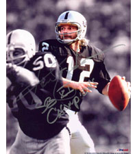"Ken Stabler Oakland Raiders 8x10 Autographed Photo with ""SB XI Champion"" inscription"