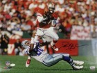 Deion Sanders Autographed San Francisco 49ers 16x20 Photo JSA