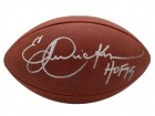 Eric Dickerson Autographed Los Angeles Rams Authentic Football HOF BAS