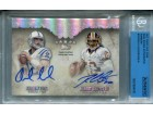 Andrew Luck & Robert Griffin III Autographed 2012 Topps Five Star Dual Rookie Card (Beckett)
