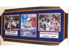 2006/2007 NCAA Champs Florida Gators team signed 2006 NCAA Finals Program - Custom FRAME - Guaranteed to pass PSA or JSA (Brewer, Horford, Green, Noah, Humphrey)