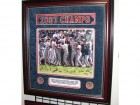 Boston Red Sox - 2007 World Series Celebration - Team Signed 16x20 INCH Photo with 22 Signatures - Mahogany Frame Measures 33x36 inches - MLB AND Mounted Memories Authenticity - Guaranteed to pass PSA or JSA