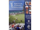 American Century Championship Golf Program 2008 (Dan Jansen / Mario Lemieux / Neil Lomax) Signed Official Program (3 Signatures in All: Inside Profile Bios - Dan Jansen, Mario Lemieux, & Neil Lomax)