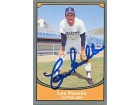 Lou Piniella Autographed/Signed 1990 Pacific Trading Card