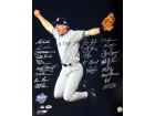 1998 World Series Champion New York Yankees Autographed 16x20 Photo With 21 Signatures PSA/DNA Stock #10701
