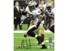 Mark Ingram signed New Orleans Saints 8x10 Photo #28 vs 49ers- Ingram Hologram