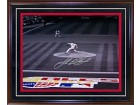 Josh Beckett Autographed / Signed Framed ALCS Game 5 vs. Indians 10/18/07 16x20 Photo