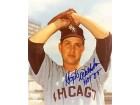 Hoyt Wilhelm HOF '85 Autographed / Signed Chicago White Sox Baseball 8x10 Photo