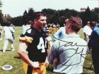 Dallas Clark Autographed 8x10 Photo Iowa PSA/DNA #Q97700