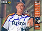 Billy Wagner Autographed / Signed 1994 Upper Deck Card