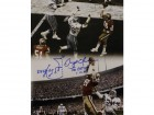 Dwight Clark Autographed San Francisco 49ers 16x20 Photo Vertical Play BAS