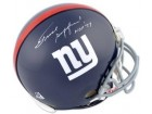 Frank Gifford signed New York Giants Replica TB Mini Helmet HOF 77