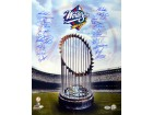 1998 World Series Champion New York Yankees Autographed 16x20 Photo With 21 Signatures PSA/DNA Stock #10710