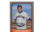 Harry Walker Autographed/Signed 1989 Pacific Trading Card