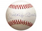 Mickey Mantle Autographed NL Feeney Baseball New York Yankees PSA/DNA #I73141