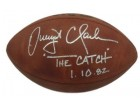 Dwight Clark Autographed San Francisco 49ers Offical Football The Catch JSA