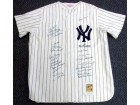1961 New York Yankees Reunion Autographed (23 Signatures) Mitchell & Ness Jersey Yogi Berra & Whitey Ford PSA/DNA #J86561