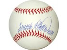 Frank Robinson signed Official Major League Baseball HOF 82