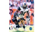 Isaac Bruce signed St. Louis Rams 8x10 Photo- PSA Hologram