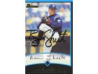 Ben Sheets Autographed / Signed 2001 Topps No.267 Baseball Card