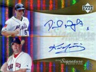 David Wright & Kevin Youkilis Autographed / Signed Upper Deck Reflections Card